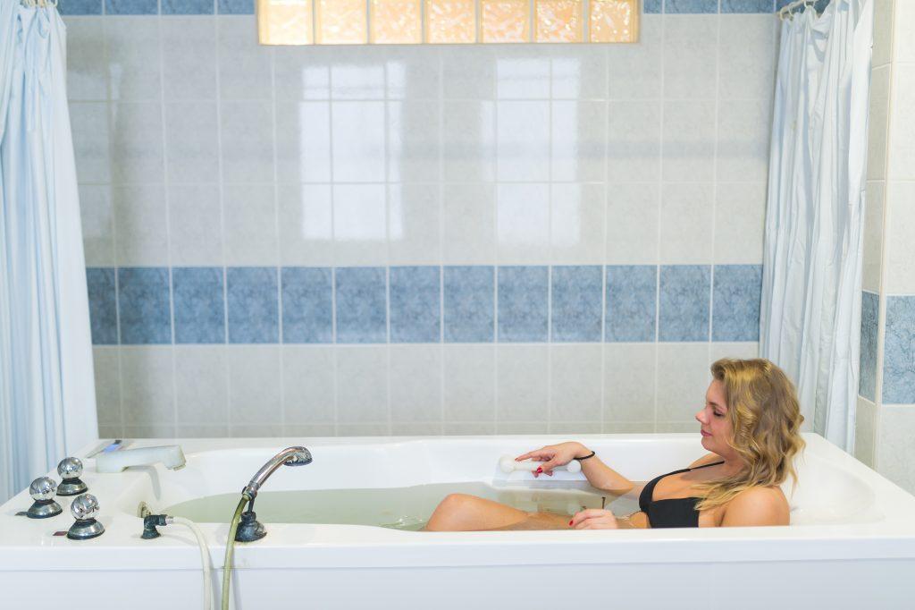 Gyógyvizes kádfürdő